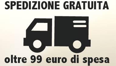 Spedizione gratuita oltre 99 euro di spesa