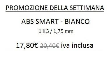 Promo ABS 1,75 mm Smart Bianco